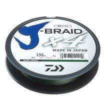 Daiwa J-Braid X4 Dark Green Fonott Zsinór 135m