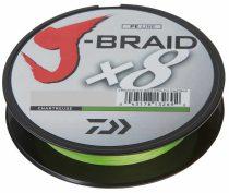 Daiwa J-Braid X8 Chartreuse Fonott Zsinór 300m