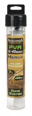Anaconda PVA Háló Heavy X Mesh Cone Compressor System 7m 28mm