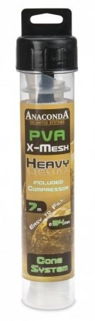 Anaconda PVA Háló Heavy X Mesh Cone Compressor System 7m 34mm