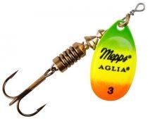 Mepps Aglia Fluo Körforgó (Tiger)