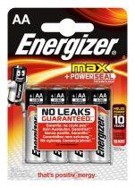 Energizer MAX + POWERSEAL AA Ceruza Elem