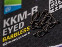Preston KKM-B EYED Barbless Szakállnélküli Horog