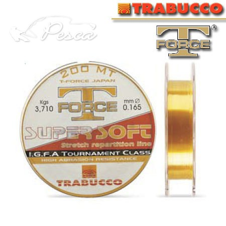 Trabucco T-Force Super Soft Zsinór 200m