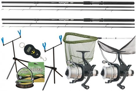 Energo Team Carp Hunter Long Cast Runner Feeder Szett