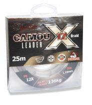 Uni Cat Camou 12 X  Leader Előke Zsinór 25m 0,80mm 89kg
