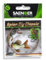 Saenger Spinn Rig Classic 1×7 előke 70cm 2db/csomag