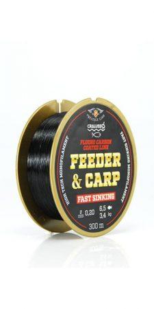 Cralusso Feeder & Carp Zsinór (fluoro carbon bevonat QSP-vel) 150m