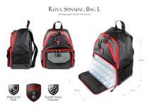 REIVA Spinning Bag Pergető Hátizsák L 4db Dobozzal