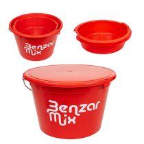 Benzar mix  25 Literes Etetőanyagos Vödör Tetővel  + 8 Literes Tállal