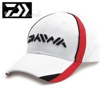 Daiwa Caps White / Red Flash Sapka