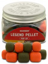 Haldorádó LEGEND PELLET Pop Up 12, 16 mm - Brutális Máj 50gr