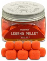 Haldorádó LEGEND PELLET Pop Up 12, 16 mm - Chilis Tintahal 50gr