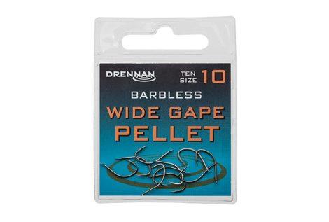 Drennan Barbless Wide Gape Pellet (szakállnélküli)