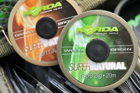 Korda Supernatural Gravel Brown Előkezsinór 20m