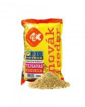 Novák Feeder Big Method Tejsavas Kukorica 1kg