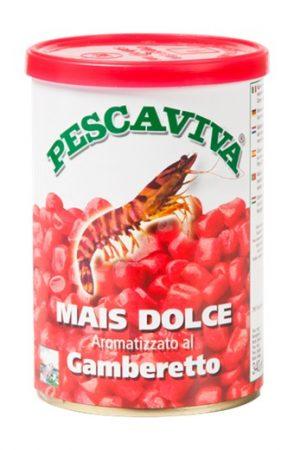 Pescaviva Csemege Kukorica Gamberetto 285gr