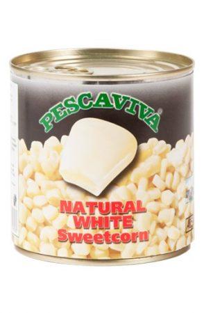 Pescaviva Natural White Csemege Kukorica 285gr